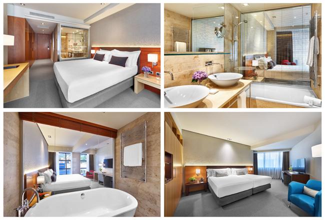 habitaciones hotel domine bilbao