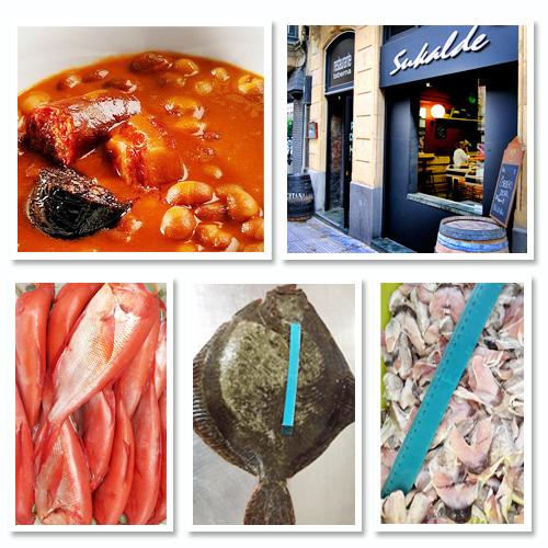 Menú del día Sukalde Restaurante Bilbao Gastronomía