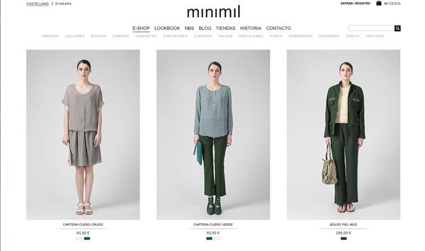 minimil moda mujer bilbao