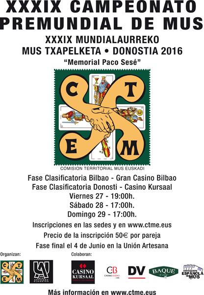 Campeonato Mundial Mus Casino Bilbao