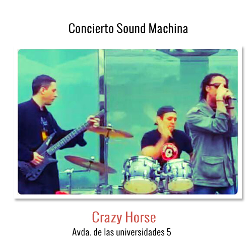 Sound Machina -Conciertos-Crazy Horse-Bilbao