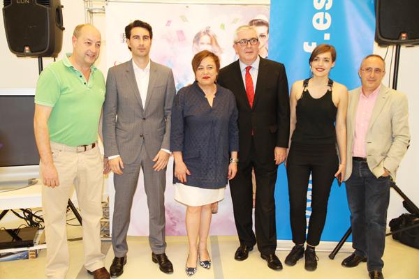 inauguración rastrillo solidario unicef bilbao