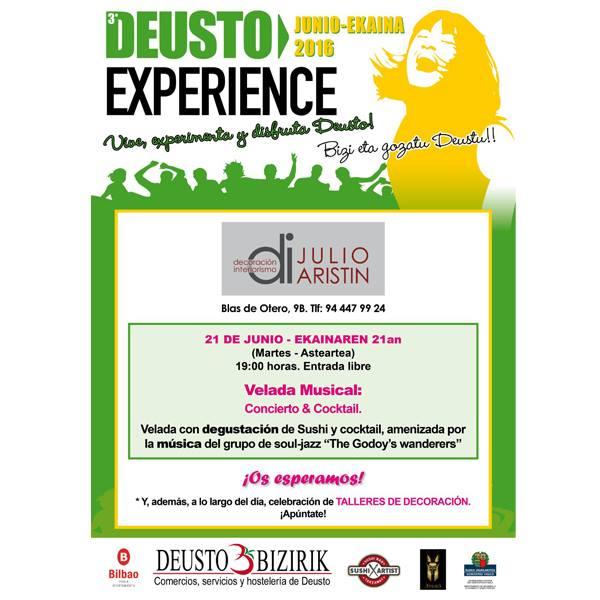 Julio Aristín Decoración Bilbao Deusto Experience