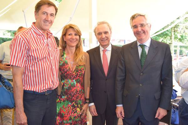 Xabier Jon Davalillo, Eva Maguregui, Ignacio Ence y Luis Eguiluz