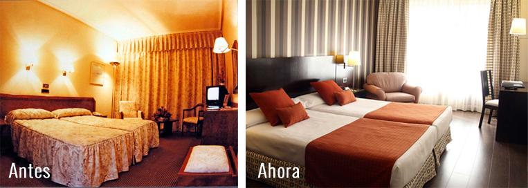Habitaciones  Hotel Conde Duque Bilbao