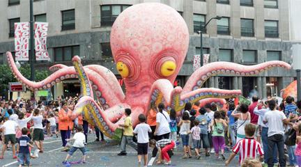 Desfile Ballena Bilbao Aste nagusia