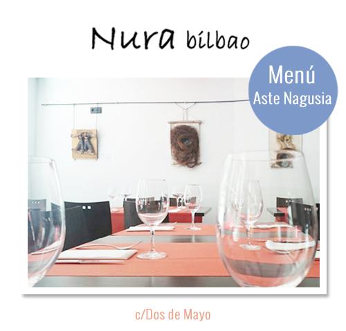 Menú Aste Nagusia Nura Bilbao