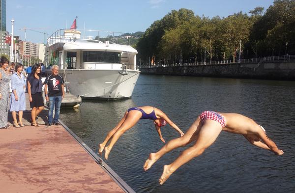 Ria de Bilbao Travesia Nado