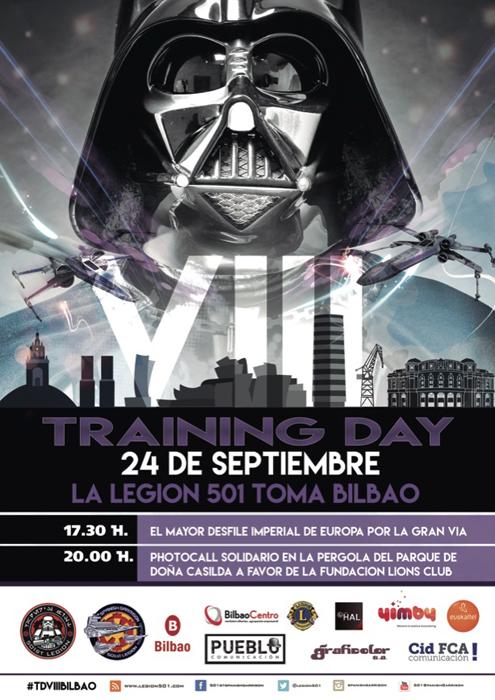 star wars bilbao training day