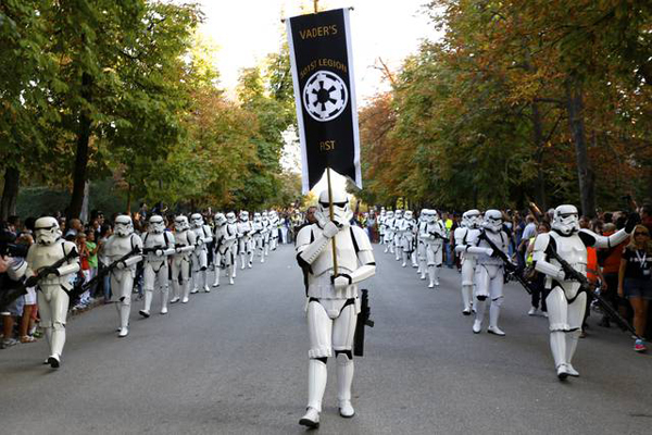 star wars desfile bilbao legion501