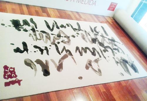 el taller de la alfombra Burashi