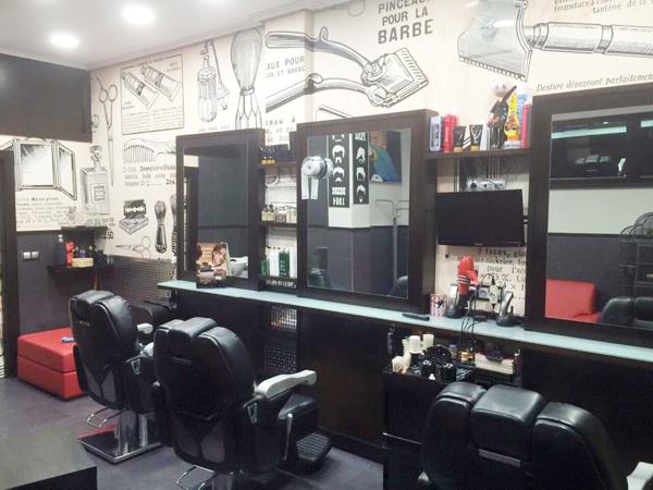 Las 9 barber as m s cool en bilbaobilbaoclick - Salones de peluqueria decoracion fotos ...