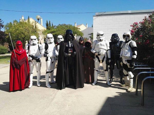 training day bilbao star wars