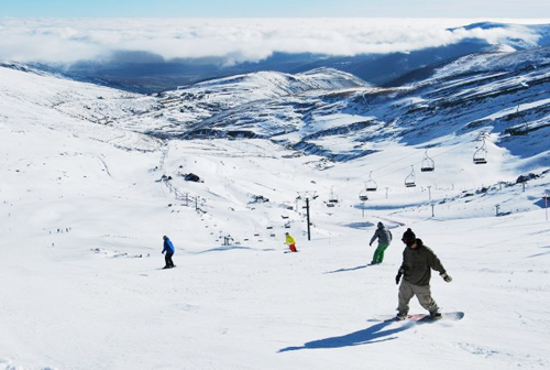 alto campoo estacion esqui