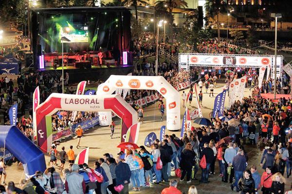 bilbao night marathon eventos