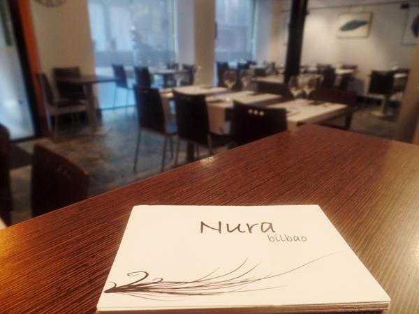 restaurante nura bilbao