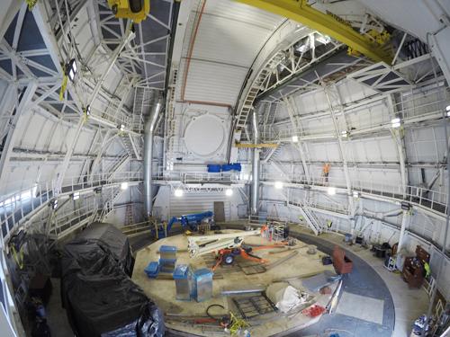 Telescopio solar bilbao exposicion
