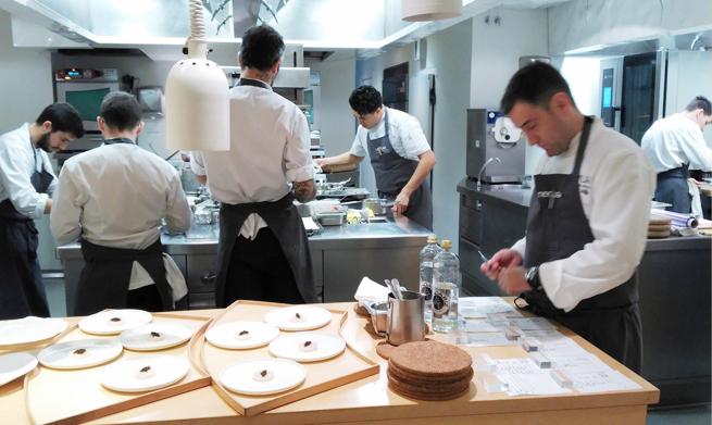 Estrella Michelin Bilbao Restaurante Nerua Guggenheim