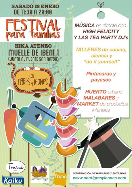 festival familias planes en bilbao