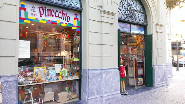 pinocchio juguetes bilbao