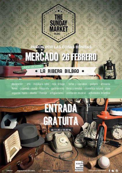 the sunday market mercado bilbao agenda