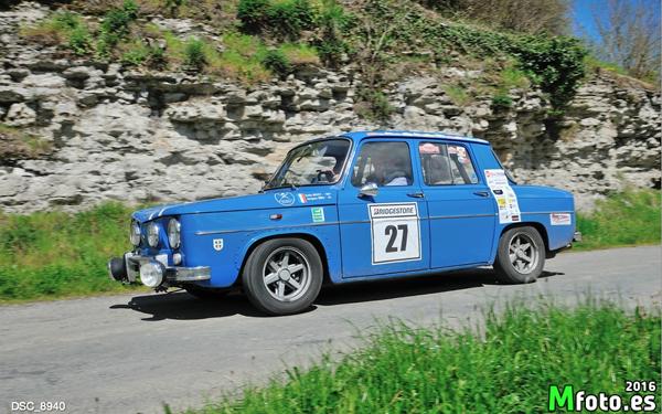 rallyestone vehiculos clasicos bilbao carrera