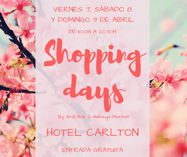shopping days pop up bilbao