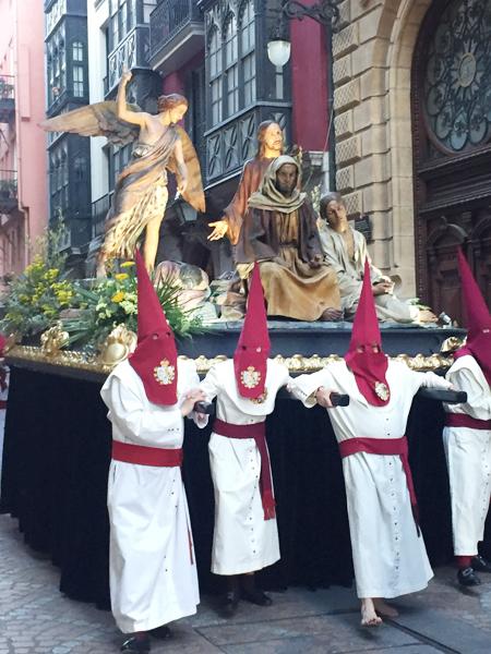 procesiones bilbao semana santa
