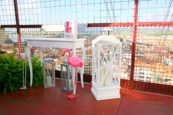 terraza puente colgante bilbao