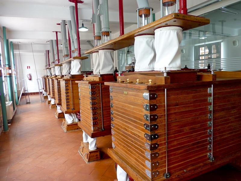 visita a la fabrica de harino panadera