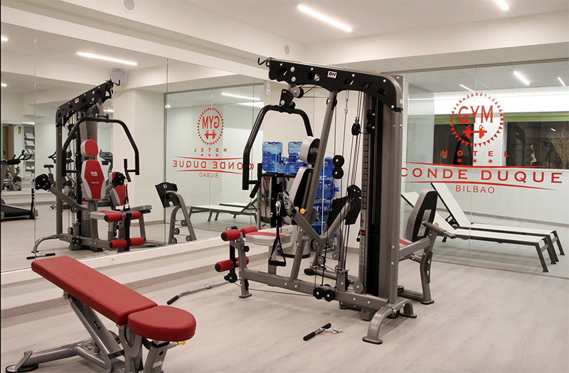 wellness center Hotel Conde Duque Bilbao