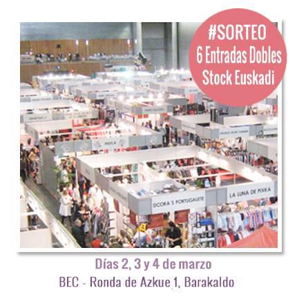 Sorteo de 6 entradas dobles para Stock Euskadi
