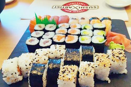 Sushi en Bilbao