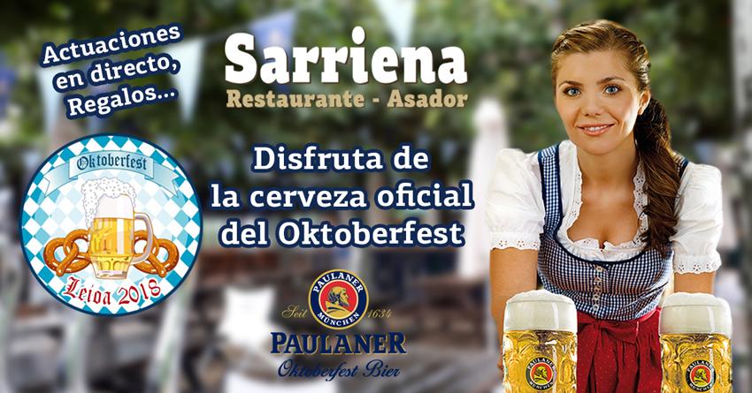 sarriena evento oktoberfest