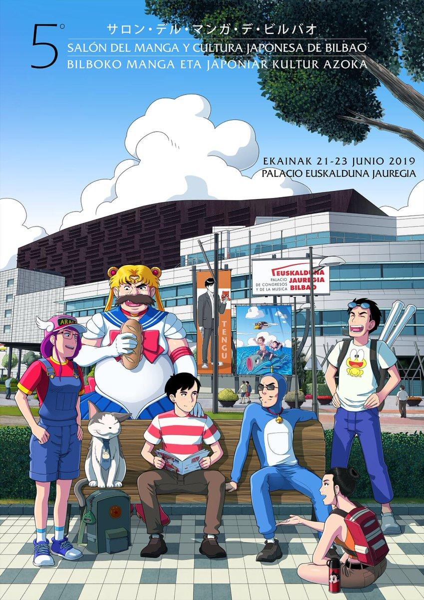 salon de manga y cutura japonesa llega a Bilbao