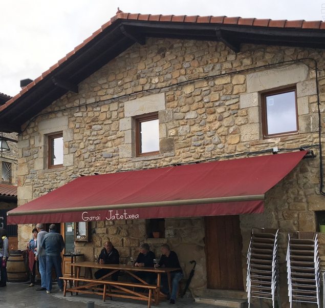 restaurante garai alubias rojas bizkaia