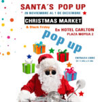 santas pop up market hotel carlton