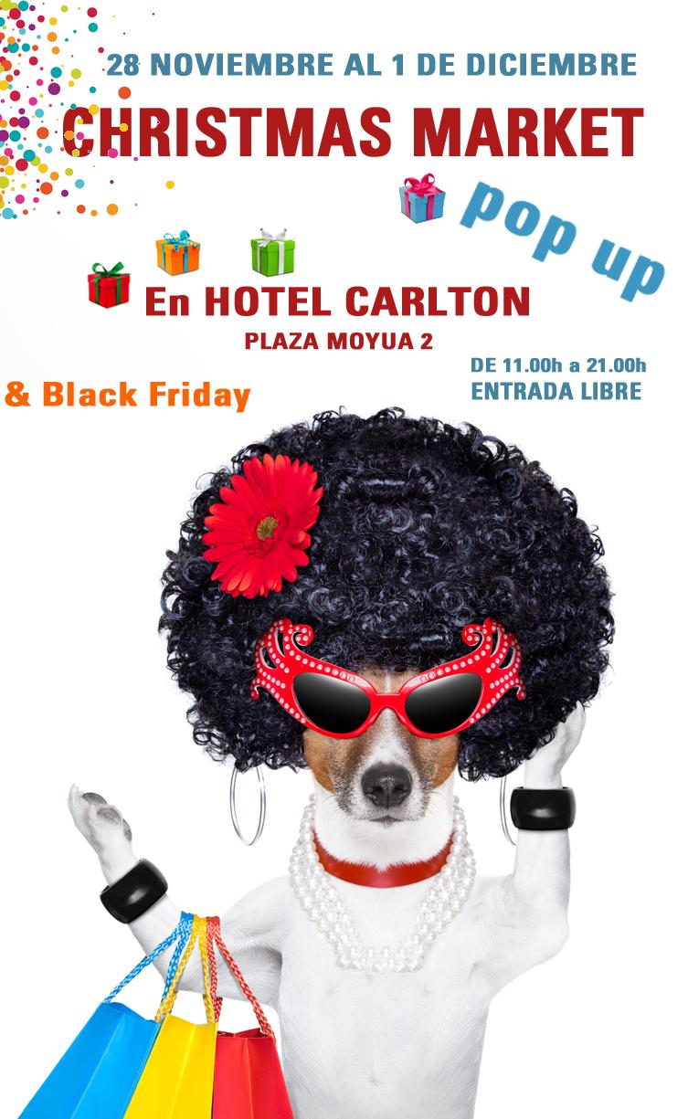 market navidad pop up hotel carlton 2019