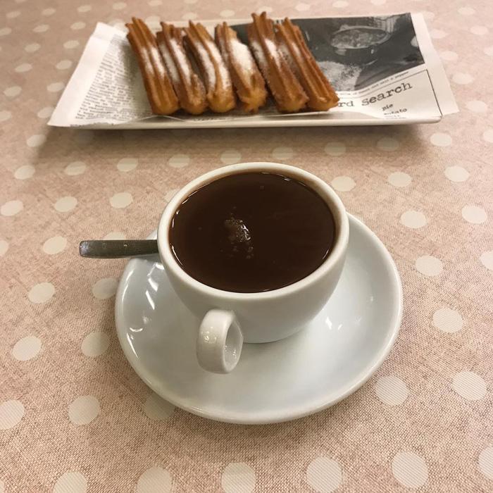 chocolate a la taza en bilbao