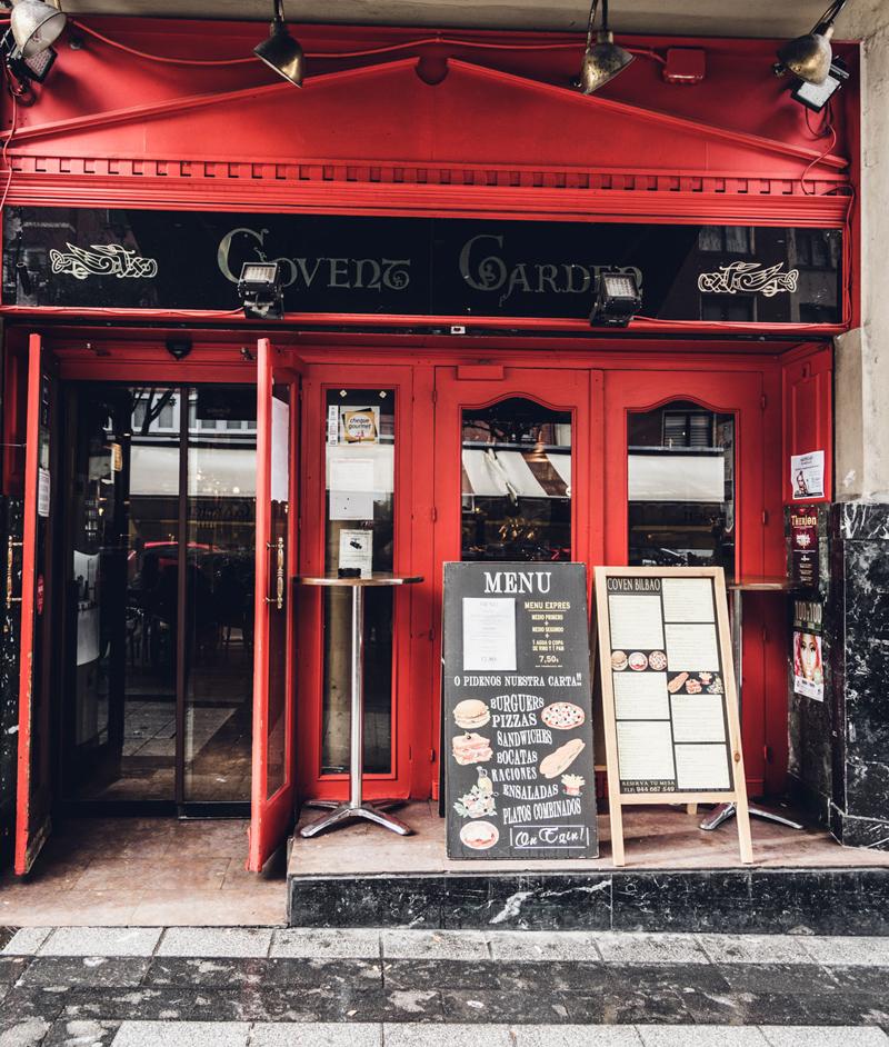 covent garden pub irlandes de isla esmeralda en bilbao