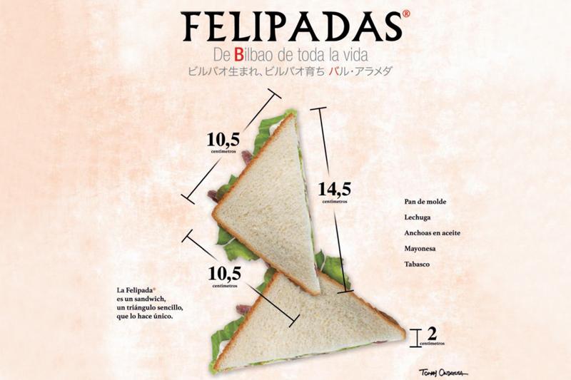 bar alameda bilbao sanwiches felipadas